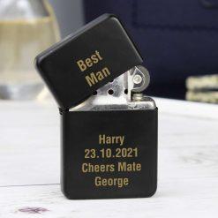 Personalised Black Lighter birthday gift 9