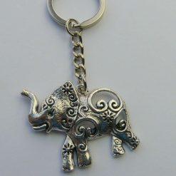 Decorative Elephant Keychain, Keyring, Bag Charm