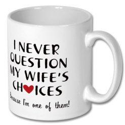 Affordable Gift Mug from Husband