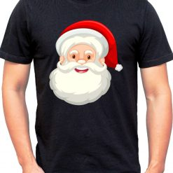 Wow T-Shirts 'SANTA CLAUSE' Stylish T-Shirt with Saying - Themed Printed Cotton Unisex T-Shirt For Men, Women, Boys, Girls