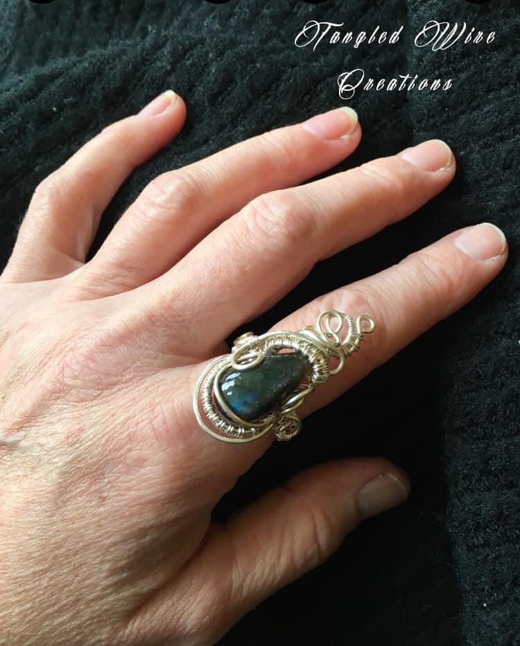 Labradorite Ring 4
