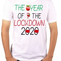 Wow T-Shirts 'The Year Of The Lockdown 2020' Stylish T-Shirt with Saying - Themed Printed Cotton Unisex T-Shirt For Men, Women, Boys, Girls