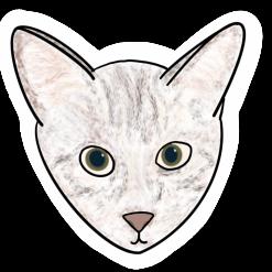 Cute animal design shaped mini stickers