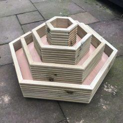 Hexagon Tower Planter