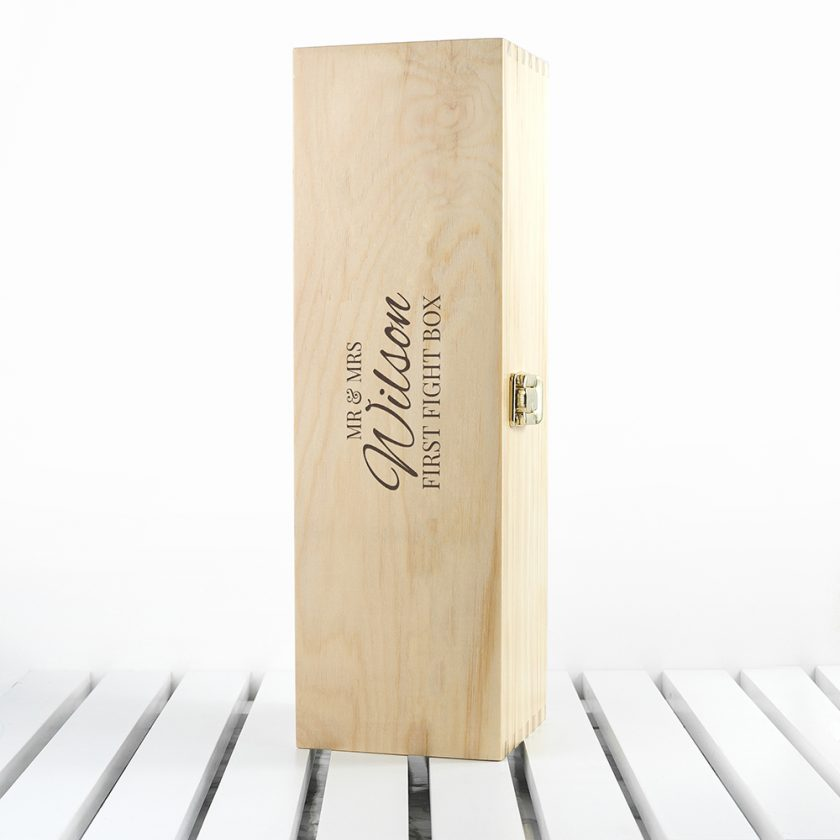 Classic Couples First Fight Box wine bottle storage 3