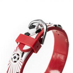 Kids Personalised Red Football Watch 15