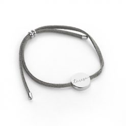Personalised Always with You Name Grey Bracelet 11