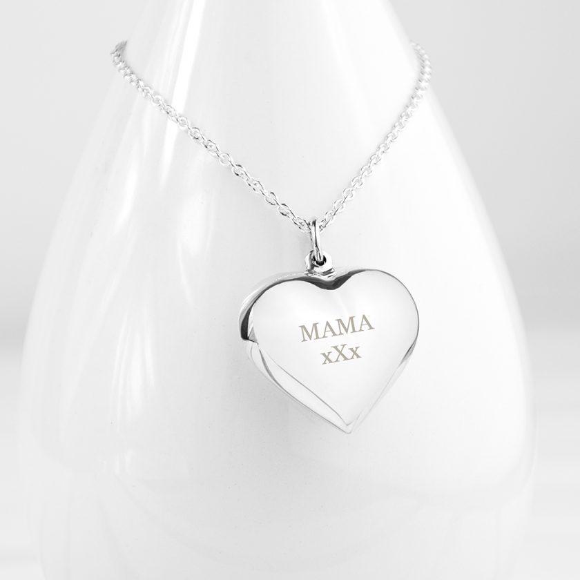 Personalised Cherish Heart Necklace 2