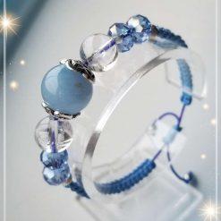 Aquamarine Gemstone Bracelet
