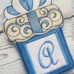 Gift Card Holders/Hangers - Personalised with Initial 5