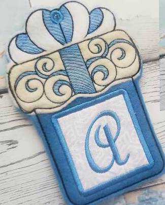 Gift Card Holders/Hangers - Personalised with Initial 2