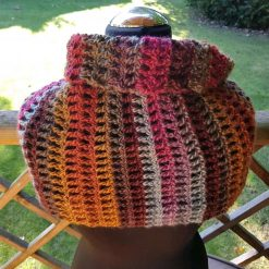 Handmade crocheted cowl/neck wrap multi coloured 7