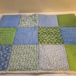 Blue Crate Quilt/playmat