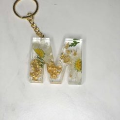 Bookmark and Keychain set | Personalised | Floral | Free Delivery
