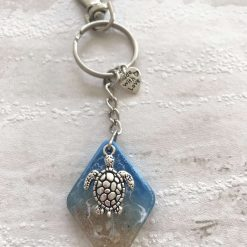 - Seascape | Ocean | Turtle | Key Ring | Bag Charm
