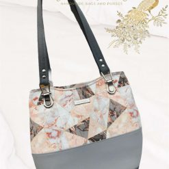 Marble Geo Collection, shoulder bags makeup bag, purse, matching set, perfect gift ideas, Mother's Day gift