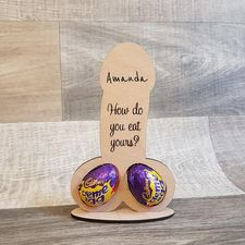 How do you eat yours - Easter Creme Egg Holder