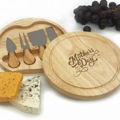 Birthday Valentine Wedding Mothers Day Fathers Day Cheese Board Set  - Free Postage