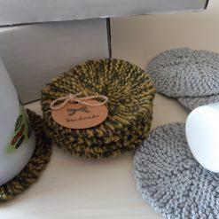 Knit a Gift Knitting Kit - Colour Christmas Greens