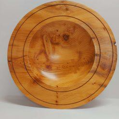 Bespoke Hand Turned Yew Bowl