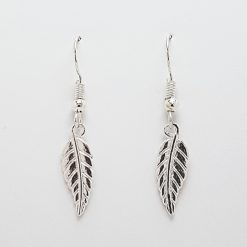 -Feather Leaf Bracelet, Earrings Jewellery Collection 6