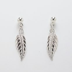 -Feather Leaf Bracelet, Earrings Jewellery Collection 7