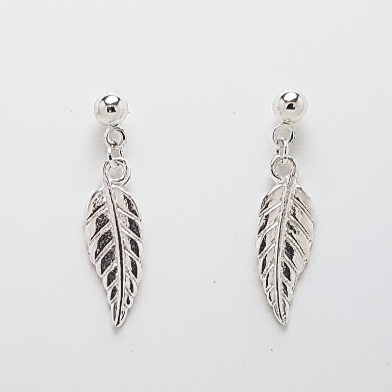 -Feather Leaf Bracelet, Earrings Jewellery Collection 4