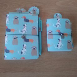 Set of doggie Travellers notebooks A6 and A7