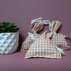 English lavender filled fabric mini bags.