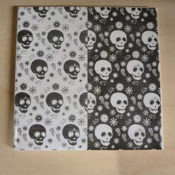Skulls - Laser Etched Tile