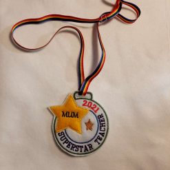 Superstar Teacher medal