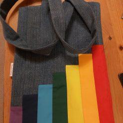 Book bag, rainbow ?
