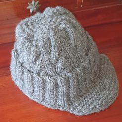 Hand-made knitted hat