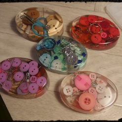 Set of 5 Unique sewing weights-free postage