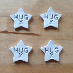 Pocket Hugs - Set of 4 Star shaped gifts