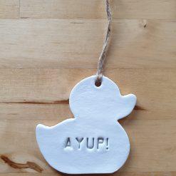 Ayup Duck! (Nottingham folk will know)