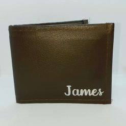 Men's personalised wallet