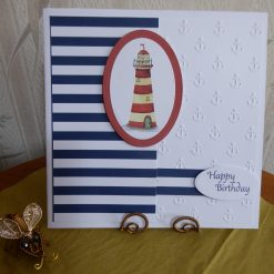 z sold With Love & Hearts Card