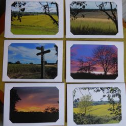 Country Scenes Note/Letter Cards (pack of 6)