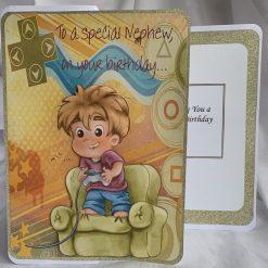 A special nephew Handmade Card
