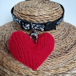 Valentine Heart Hug Collar tag for you beloved Pooch, sold to raise funds for Battersea