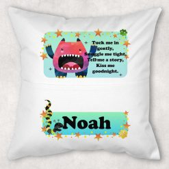 Personalised Book Cushion