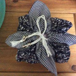 Koi design fabric tray and heart set
