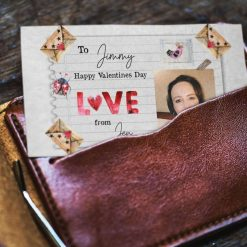 Personalised Photo Message Card