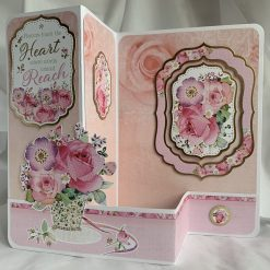 Boxed Valentine's Day Red Rose Easel Card