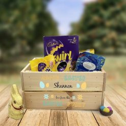 Happy Easter Crate Personalised