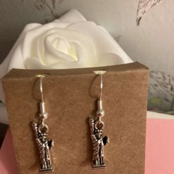 Sterling silver Statue of Liberty earrings