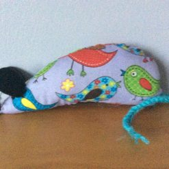 Handmade Catnip Mouse - Birds - Cat Toy with Extra Strong Catnip - FREE POSTAGE
