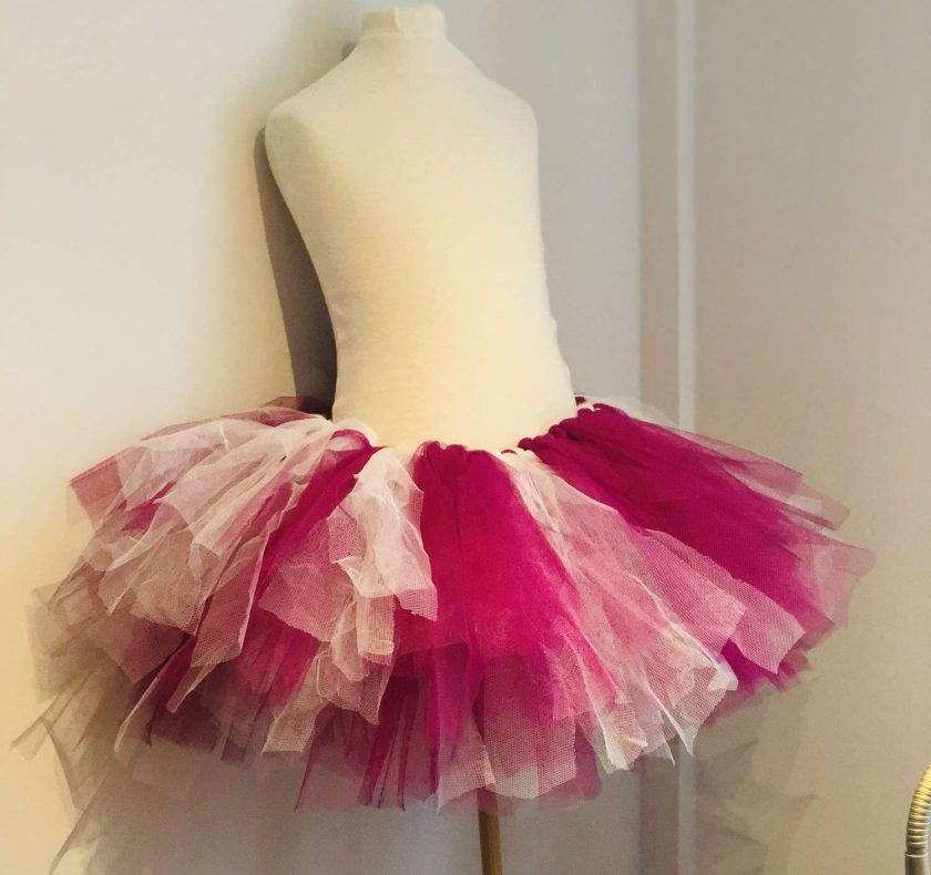 Two tone tutu skirt