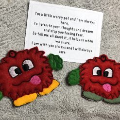 'Worry Monster' Pocket Hug - Keepsake/Pocket Hug